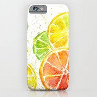 iPhone & iPod Case featuring Fruit Watercolor by Olechka