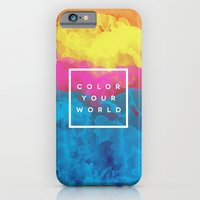 iPhone & iPod Case featuring Color Your World by Galaxy Eyes
