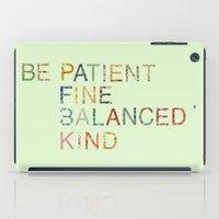 Skinny Love Quote iPad Case
