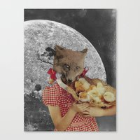 Counting Chickens Canvas Print