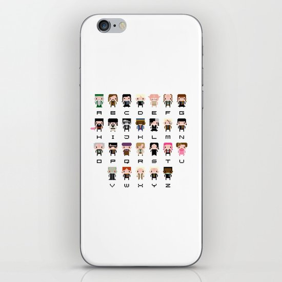 Harry Potter Alphabet iPhone & iPod Skin