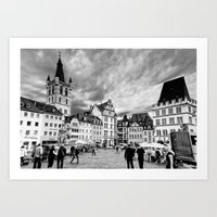 Trier, Oldest City In Ge… Art Print