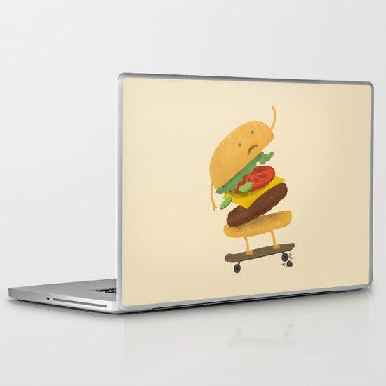 Burger Wipe-out Laptop & iPad Skin