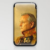 iPhone & iPod Skin featuring Bill Murray - Replacefac… by Replaceface