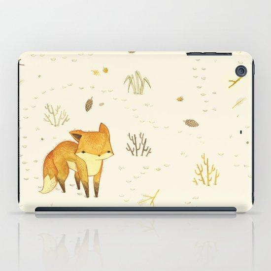 Lonely Winter Fox iPad Case