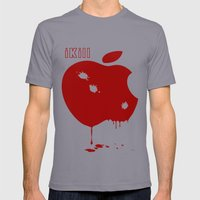 Apple Kill Mens Fitted Tee Slate SMALL