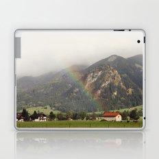 Rainbow in the Valley Laptop & iPad Skin