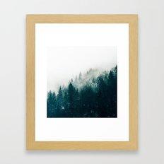 The Silent Forest #society6 #decor #buyart Framed Art Print