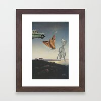 And I Feel Like Everything's Surreal Framed Art Print