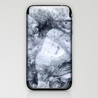 Marble Ebru Pattern DR1 iPhone & iPod Skin