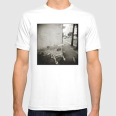{ lost } Mens Fitted Tee White SMALL