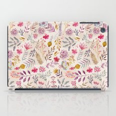 Light floral iPad Case