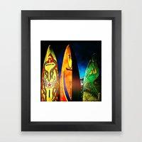 Tough Surf Framed Art Print