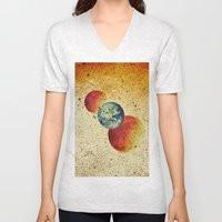 Take Me To The Moons And… Unisex V-Neck
