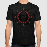 Head Hat Mens Fitted Tee Tri-Black SMALL