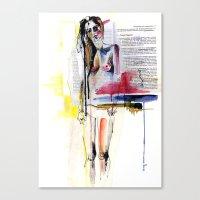 Sense II Canvas Print