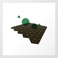 #333 Deep space cartography part II – Geometry Daily Art Print