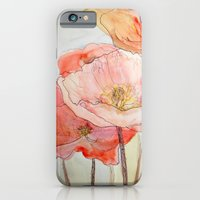 iPhone & iPod Case featuring Poppies by Kathryn Repas