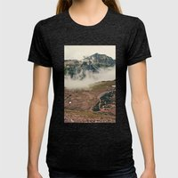 Mountain Hike Womens Fitted Tee Tri-Black SMALL