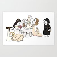 Four Weddings And A Fune… Art Print