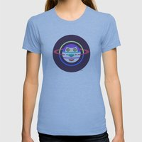 Spaceman 2 Womens Fitted Tee Athletic Blue SMALL
