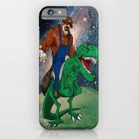 Raccoon Dino Rider.... iPhone 6 Slim Case