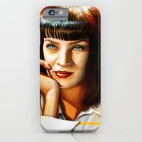 iPhone & iPod Case featuring Mia Thurman by Shana-Lee