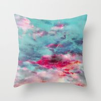 Dreamy Skyscape Throw Pillow
