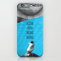 iPhone & iPod Case featuring Wish you were here (Rocking Love series) by Antigoni Chryssanthopoulou - inogitna