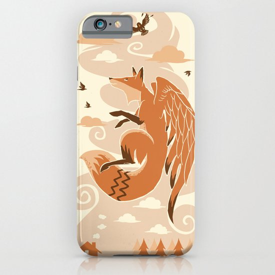 The Flying Fox's First Flight iPhone & iPod Case