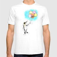 Let There Be Flight Mens Fitted Tee White SMALL