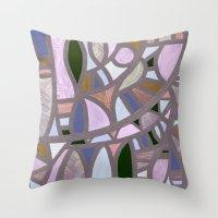 The Texture Of Twilight Throw Pillow