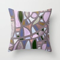 The Texture Of Twilight Throw Pillow