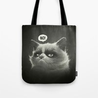No! Tote Bag