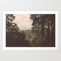 Naldehra View Art Print