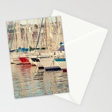 Marseille Harbor Stationery Cards