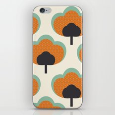orange flowers iPhone & iPod Skin