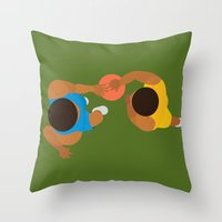 Basketball / Geometrical… Throw Pillow