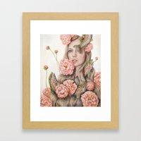 Flop Or Flower Framed Art Print