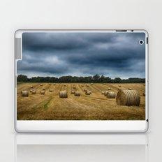 straw bales Laptop & iPad Skin