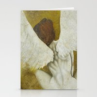 The Gold  Angel Stationery Cards