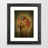 Master O. Framed Art Print