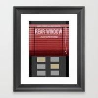 Rear Window Framed Art Print