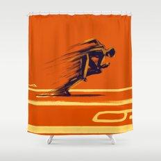 Athlethic's Run Shower Curtain