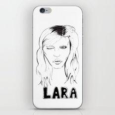 Lara iPhone & iPod Skin