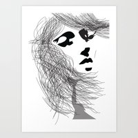 Art Print featuring Breeze by PintoQuiff