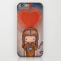 iPhone & iPod Case featuring The Robot Who Stole My Heart by Katie Lawter