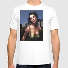 Liz Taylor Mens Fitted Tee SMALL White