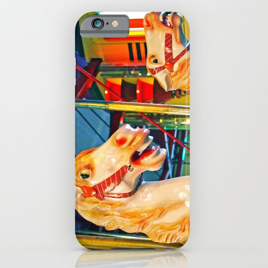 Carousal racers iPhone & iPod Case