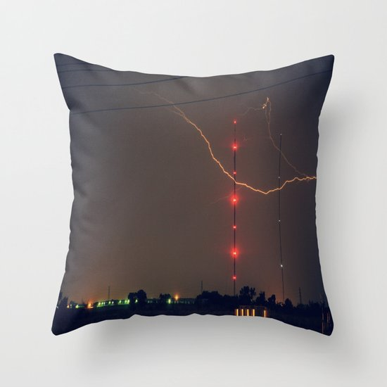 The Claw Throw Pillow